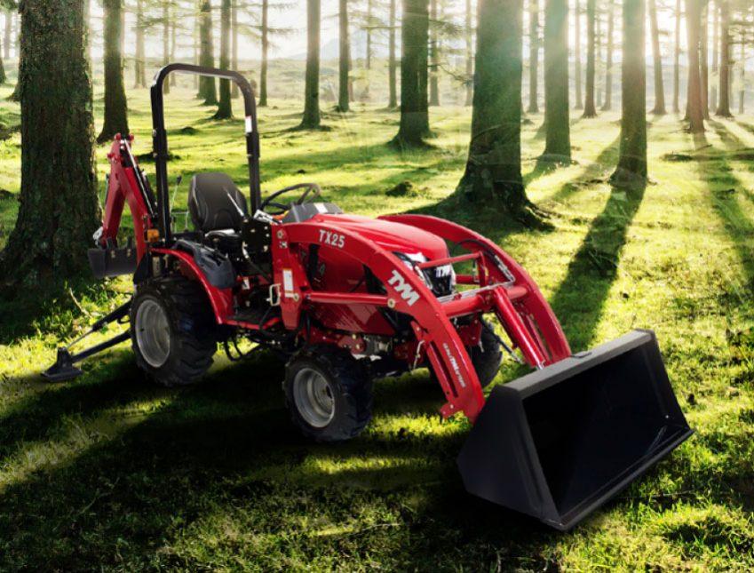 TYM tracteurs X25